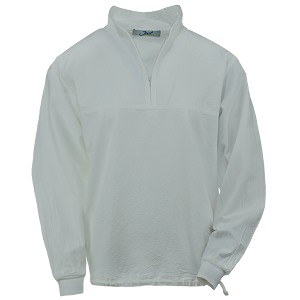 Ladies Honey-Komb Half Zip Sweatshirt Long Sleeves 100% Cotton River Rock