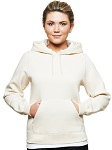 Ladies Hooded Pullover 80/20 Natural
