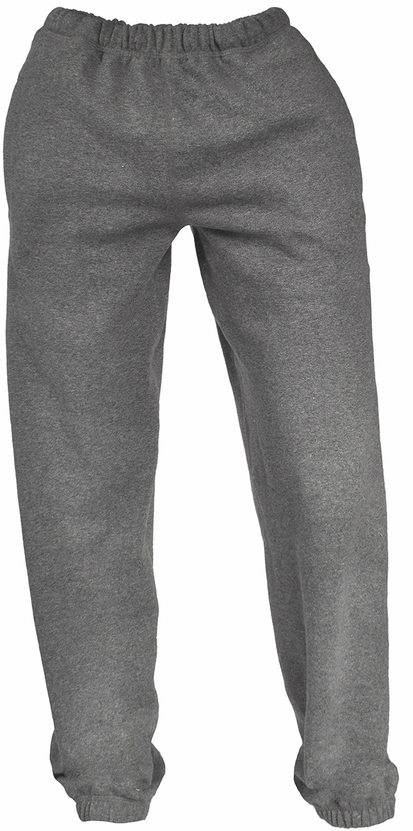 Unisex Sweatpants Fine French Terry 100% Cotton Salt & Pepper  FINAL SALE