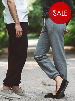 Unisex Sweatpants Fine French Terry 100% Cotton  SALE