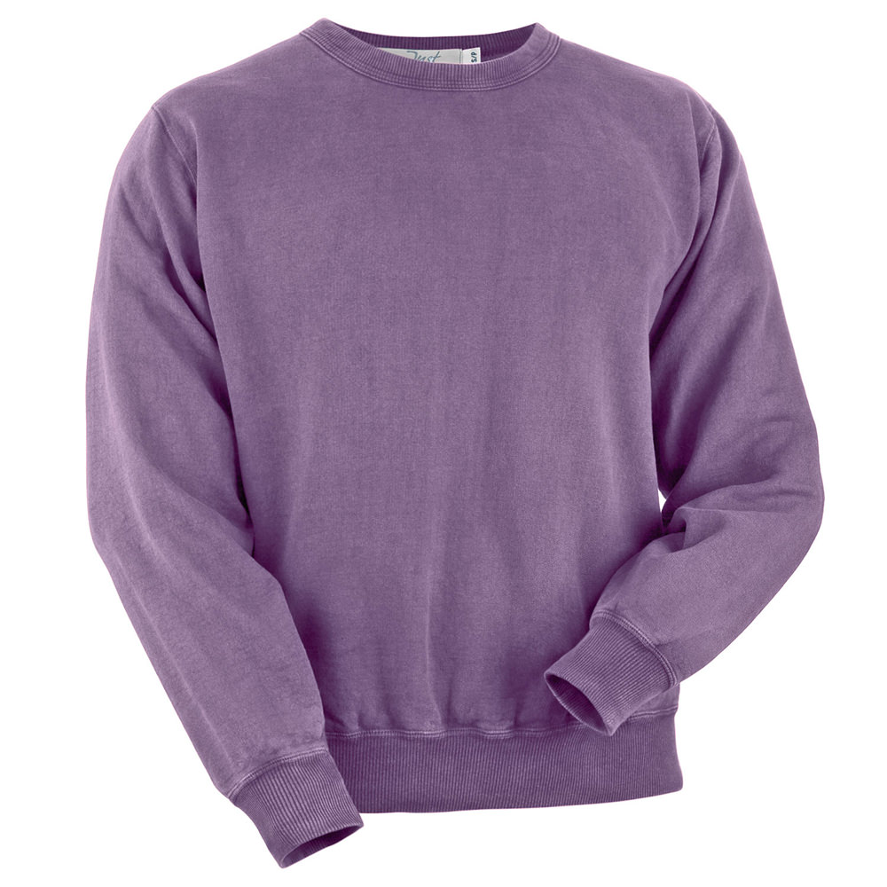 Crewneck Plum Sand 100% Cotton