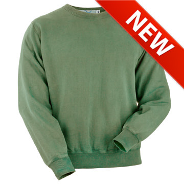 Crewneck Olive Sand 100% Cotton