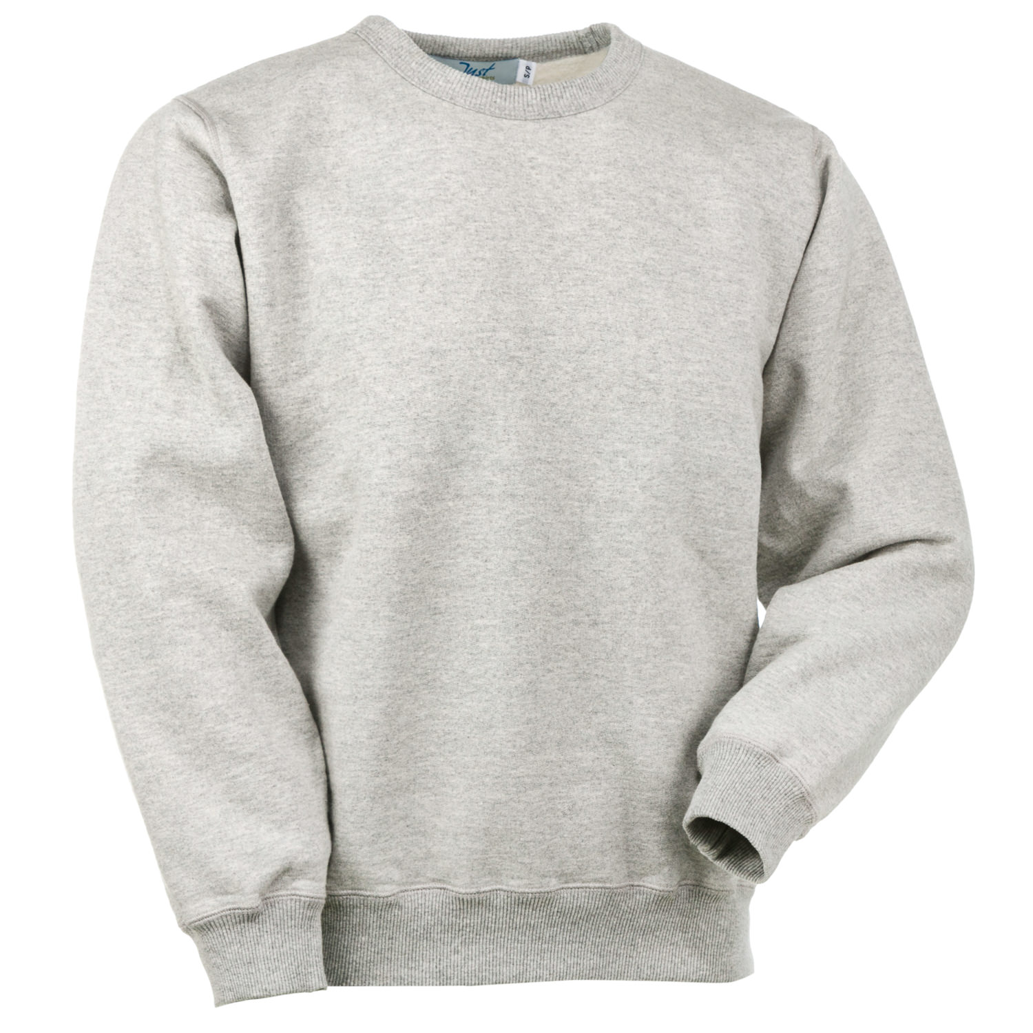 Crewneck Gray Mix 95% Cotton