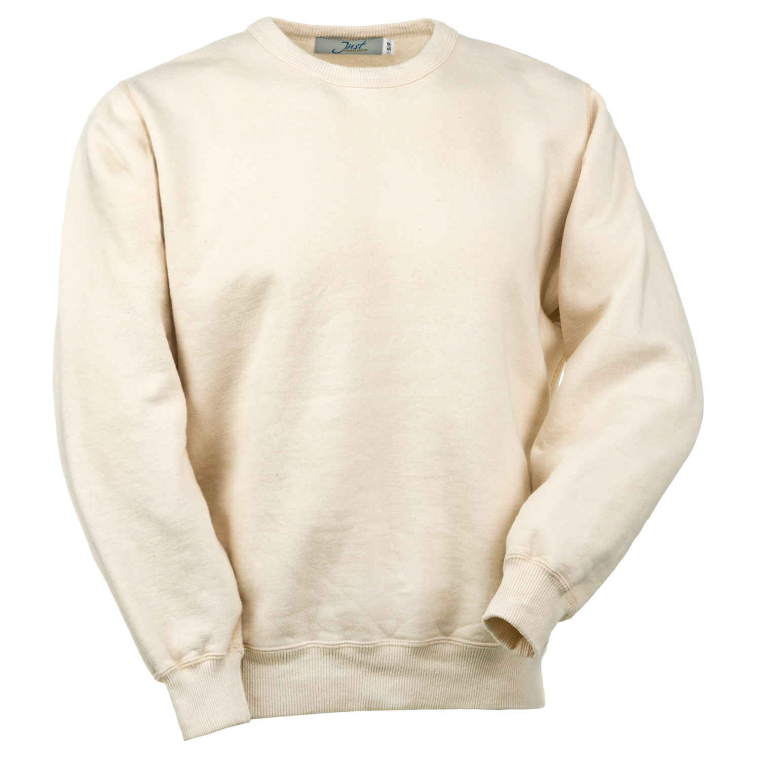 Crewneck Natural 100% Cotton