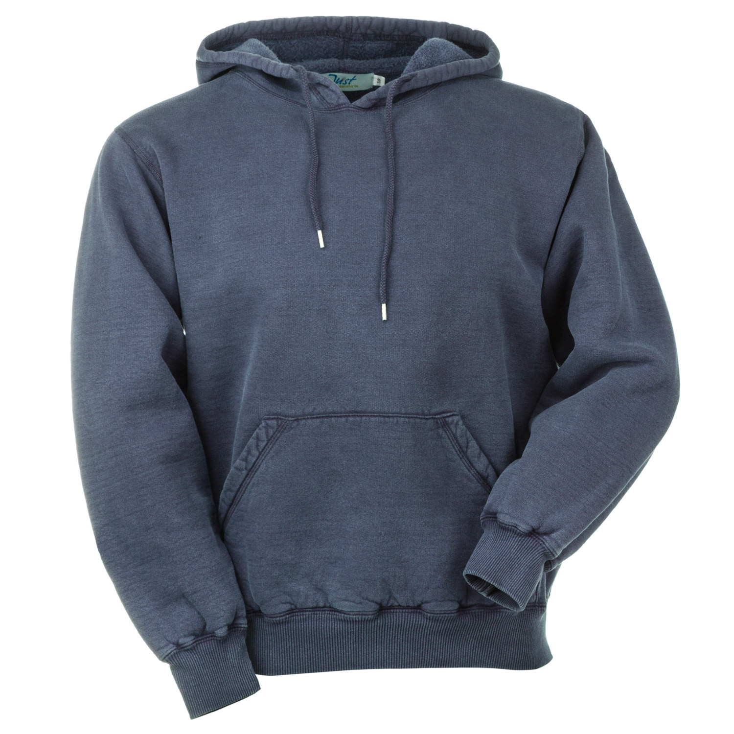 Hooded Pullover Navy Sand 100% Cotton