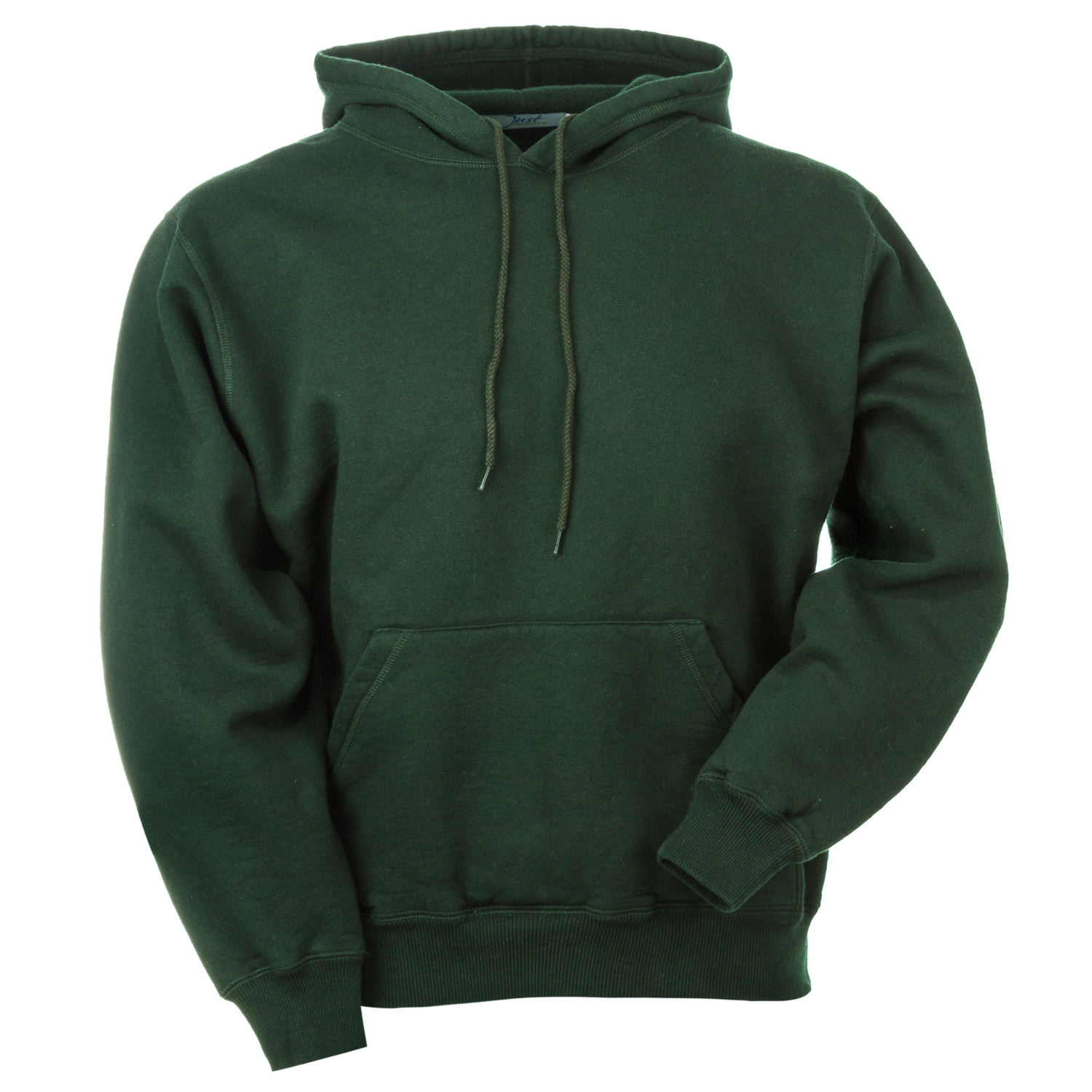Hooded Pullover Park Green 100% Cotton