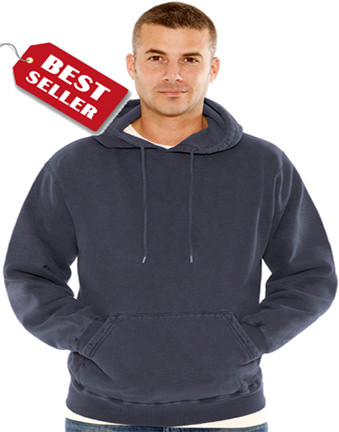 Men's Heavyweight Hooded Pullover 100% Cotton