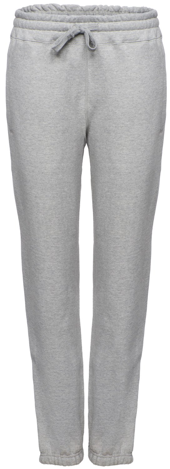 Super Heavyweight Sweatpants 100% Cotton Gray Mix