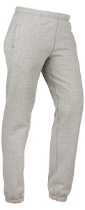 Classic Heavyweight Sweatpants 95% Cotton Gray Mix