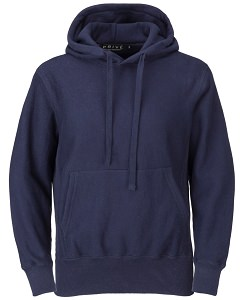 PRIVÉ Hoodie Navy with Side Rib 100% Cotton