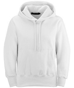 PRIVÉ Hoodie White with Side Rib 100% Cotton