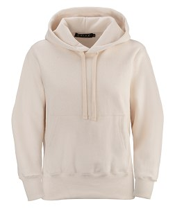 PRIVÉ Hoodie Natural with Side Rib 100% Cotton
