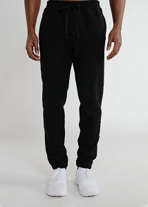 Privé Sweatpants looped back 100% Cotton Black