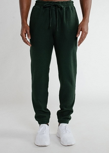 Privé Sweatpants looped back 100% Cotton Park Green