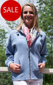 Ladies Bubble Cotton Full Zipper Hooded Jacket 100% Cotton
