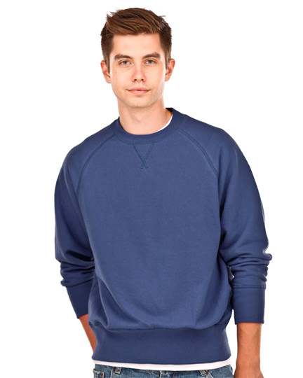 Fine French Terry Crew Neck Sweatshirts