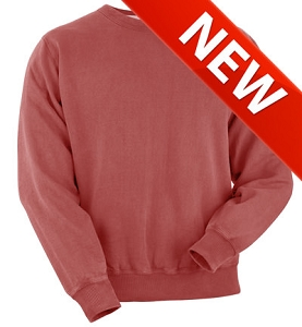 Crewneck Red Sand 100% Cotton