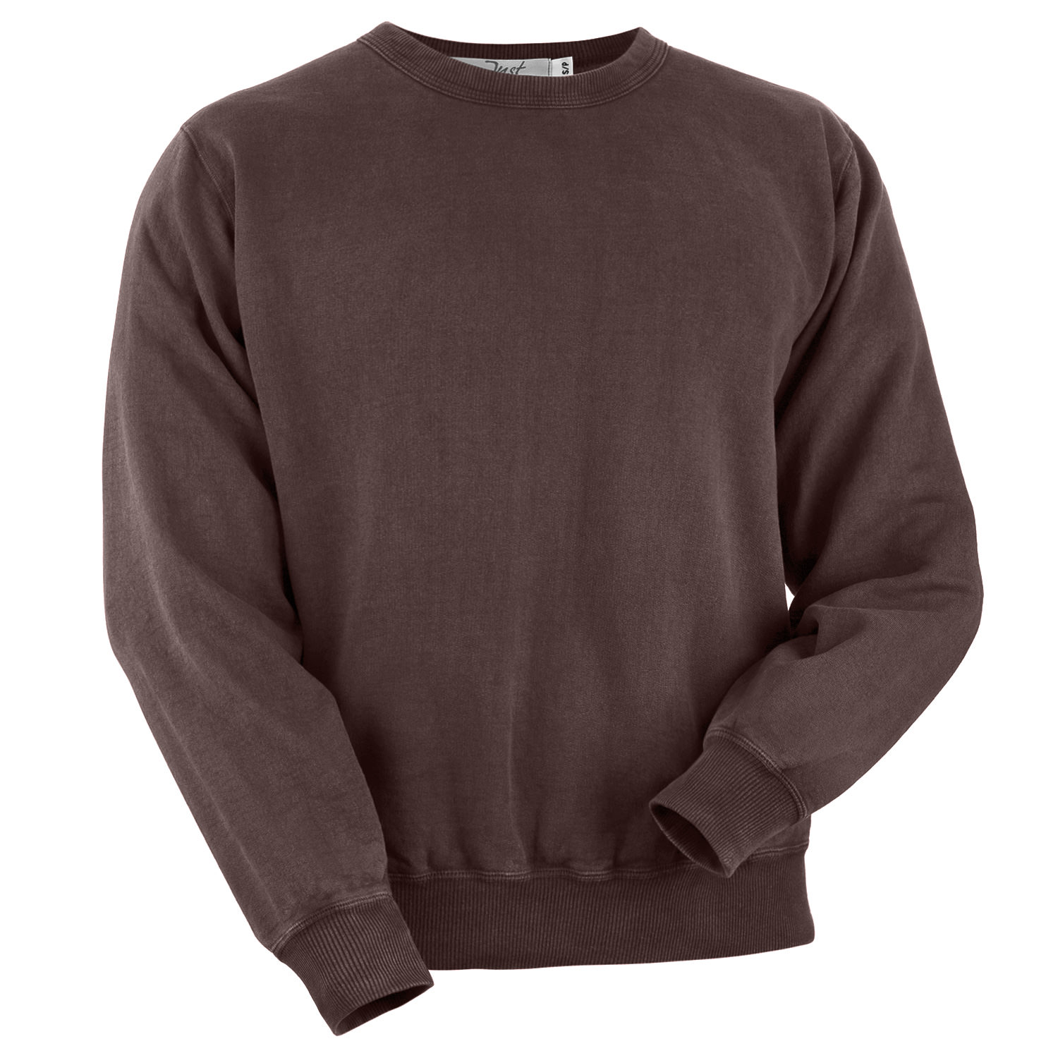 Crewneck Burgundy Sand 100% Cotton