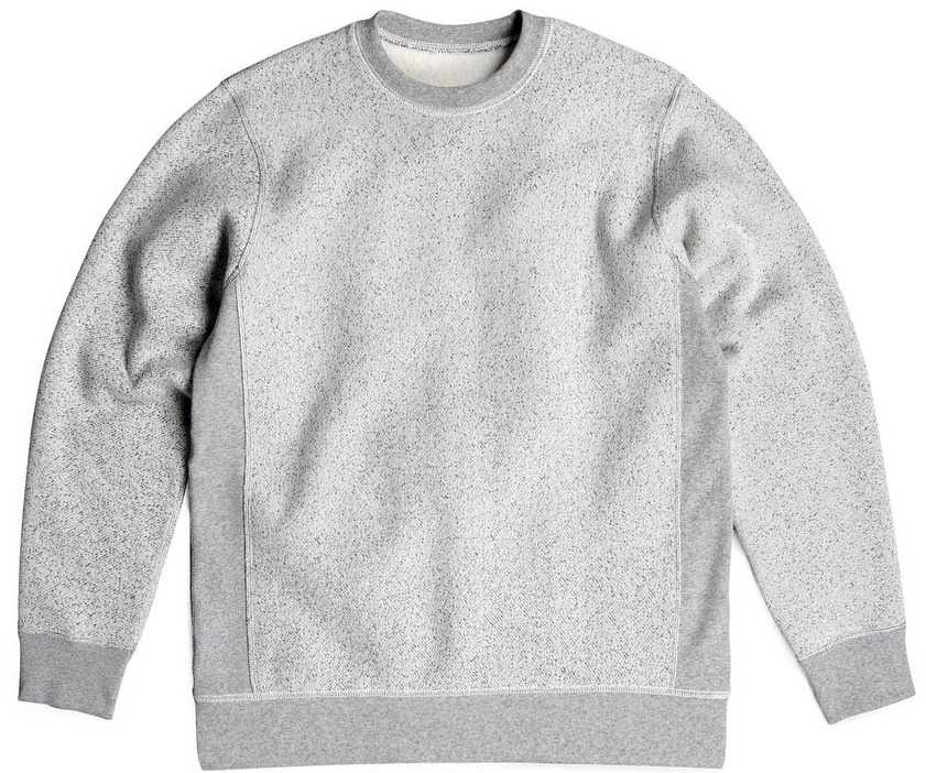 PRIVÉ Crewneck Light Speckle 85% Cotton