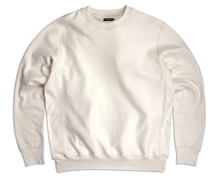 PRIVÉ Crewneck Natural 100% Cotton