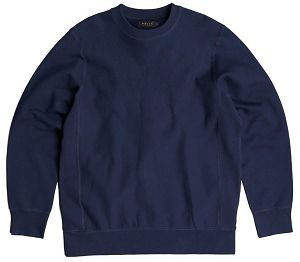PRIVÉ Crewneck Navy 100% Cotton