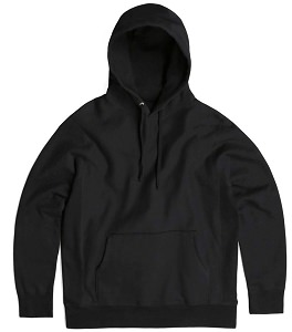PRIVE Hoodie Black 100% Cotton