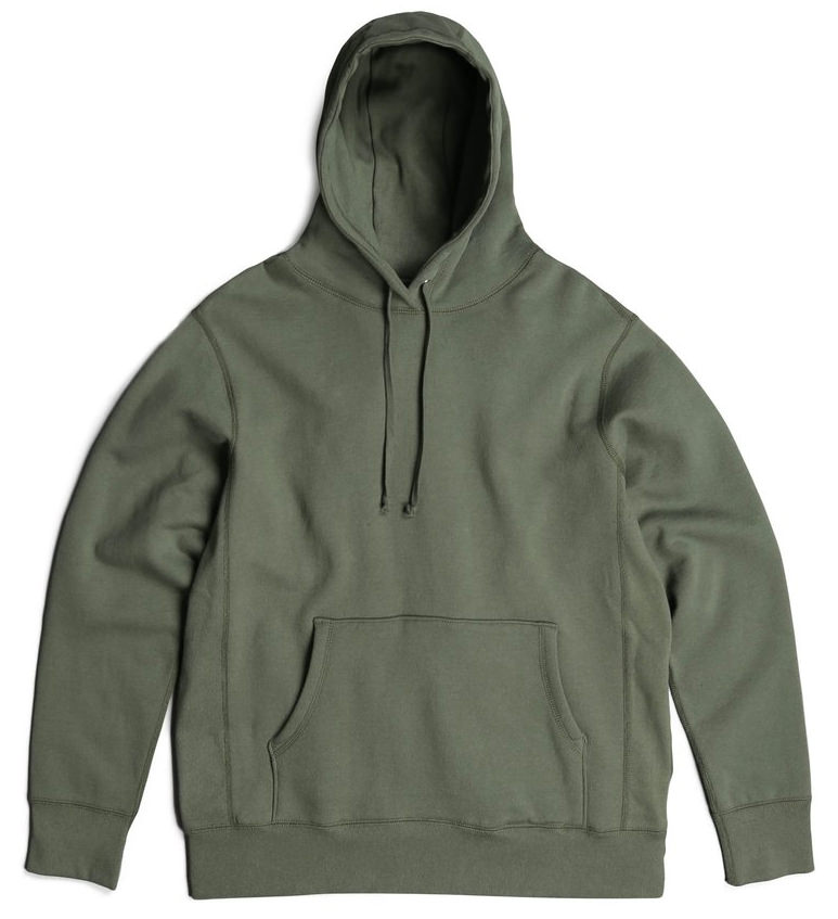 PRIVE Hoodie Olive 100% Cotton