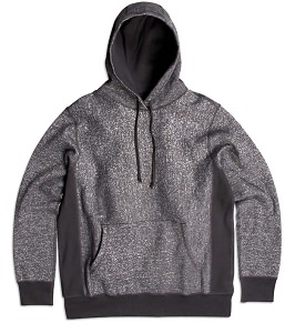 PRIVE Hoodie Dark Speckle 85% Cotton