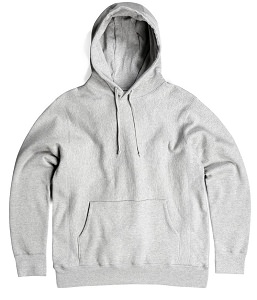 PRIVÉ Hoodie Heather Gray 100% Cotton