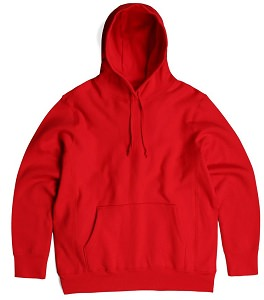 PRIVÉ Hoodie Red 100% Cotton