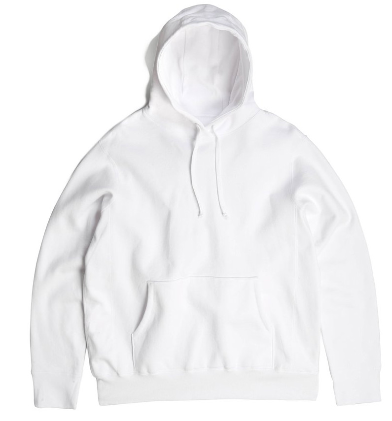 PRIVÉ Hoodie White 100% Cotton