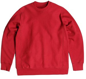 PRIVÉ Crewneck Red 100% Cotton