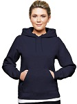 Ladies Hooded Pullover 80/20 Dark Navy