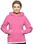 Ladies Hooded Pullover 80/20 Pink