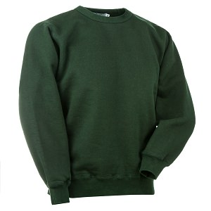 Crewneck Park Green 100% Cotton
