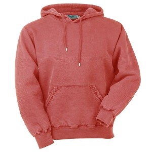 Hooded Pullover Red Sand 100% Cotton