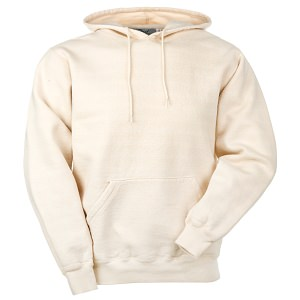Hooded Pullover Natural 100% Cotton