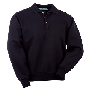 3 Button Polo Black 100% cotton