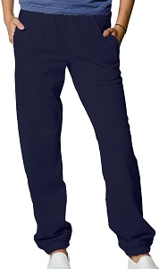 Privé Sweatpants Reverse Grain looped back 100% Cotton Dark Navy