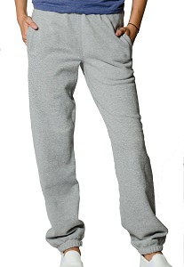 Privé Sweatpants Reverse Grain looped back 95% Cotton Grey Mix