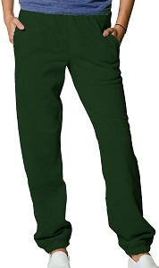 Privé Sweatpants Reverse Grain looped back 100% Cotton Park Green