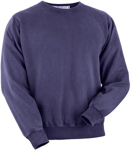 Crewneck Navy Sand 100% Cotton