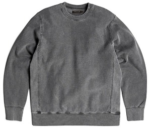 PRIVÉ Crewneck Charcoal 100% Cotton