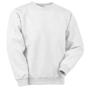 Crewneck White 100% Cotton