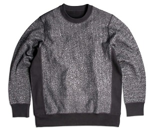 PRIVÉ Crewneck Dark Speckle 85% Cotton