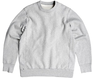 PRIVÉ Crewneck Heather Gray 100% Cotton