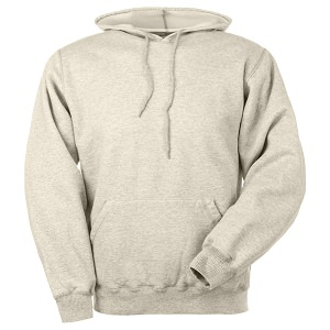 Hooded Pullover Egg Shell 100% Cotton