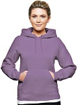 Ladies Hooded Pullover 80/20 Lavender
