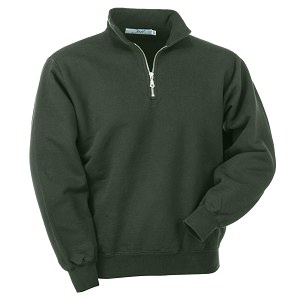 Men's Heavyweight Half Zip Neck Sweatshirts