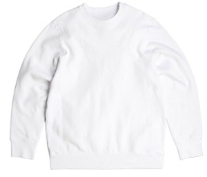 PRIVÉ Crewneck White 100% Cotton